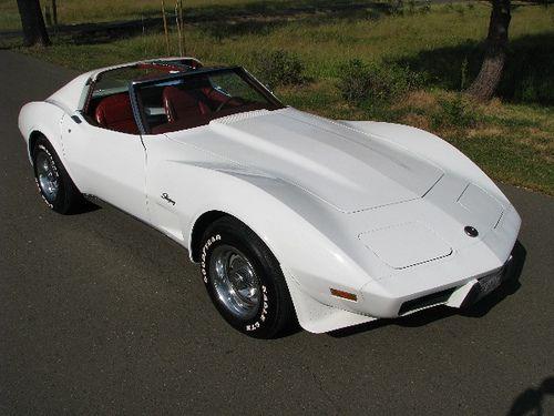 1976 Corvette Stingray | engine car | 1976 corvette