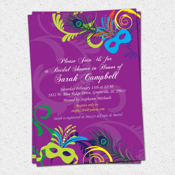 9d530003cddc Bridal Shower Invitation Printable