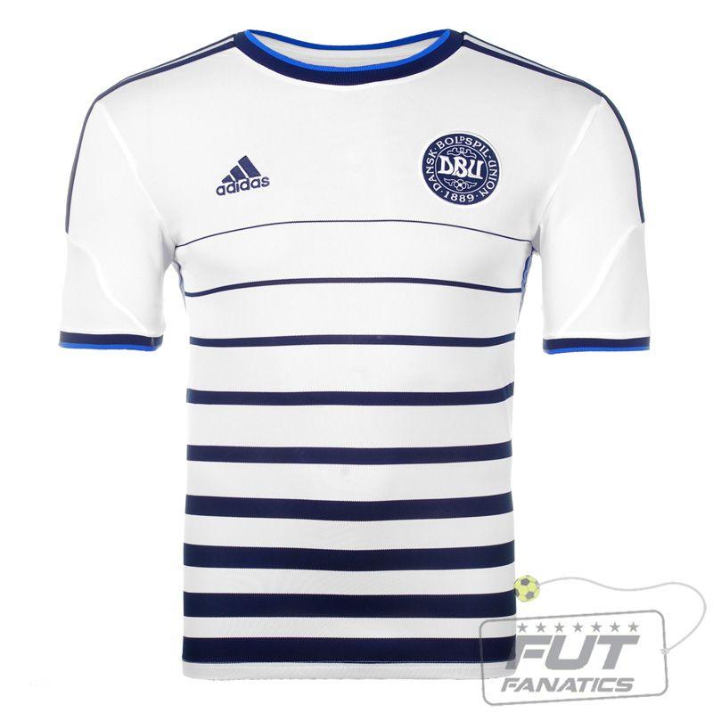 3a01307e0d68e Camisa Adidas Dinamarca Away 2014 - Fut Fanatics - Compre Camisas de Futebol  Originais Dos Melhores Times do Brasil e Europa - Futfanatics