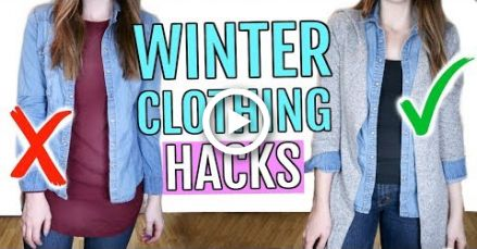 Winter Clothing Hacks You Need to Know -   14 DIY Clothes Winter life hacks ideas