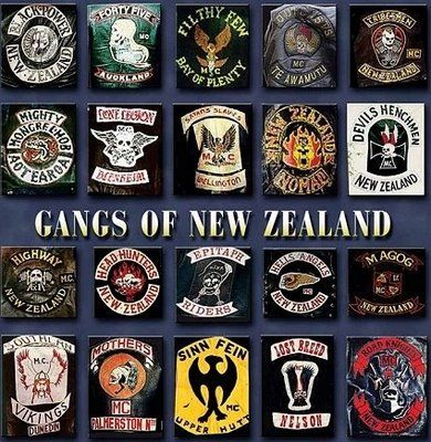 New Zealand Gang Patches