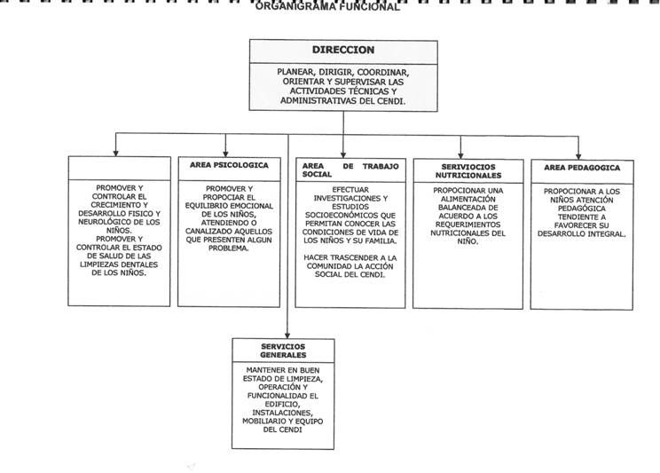 Organigrama Funcional Nivel Inicial Organigrama