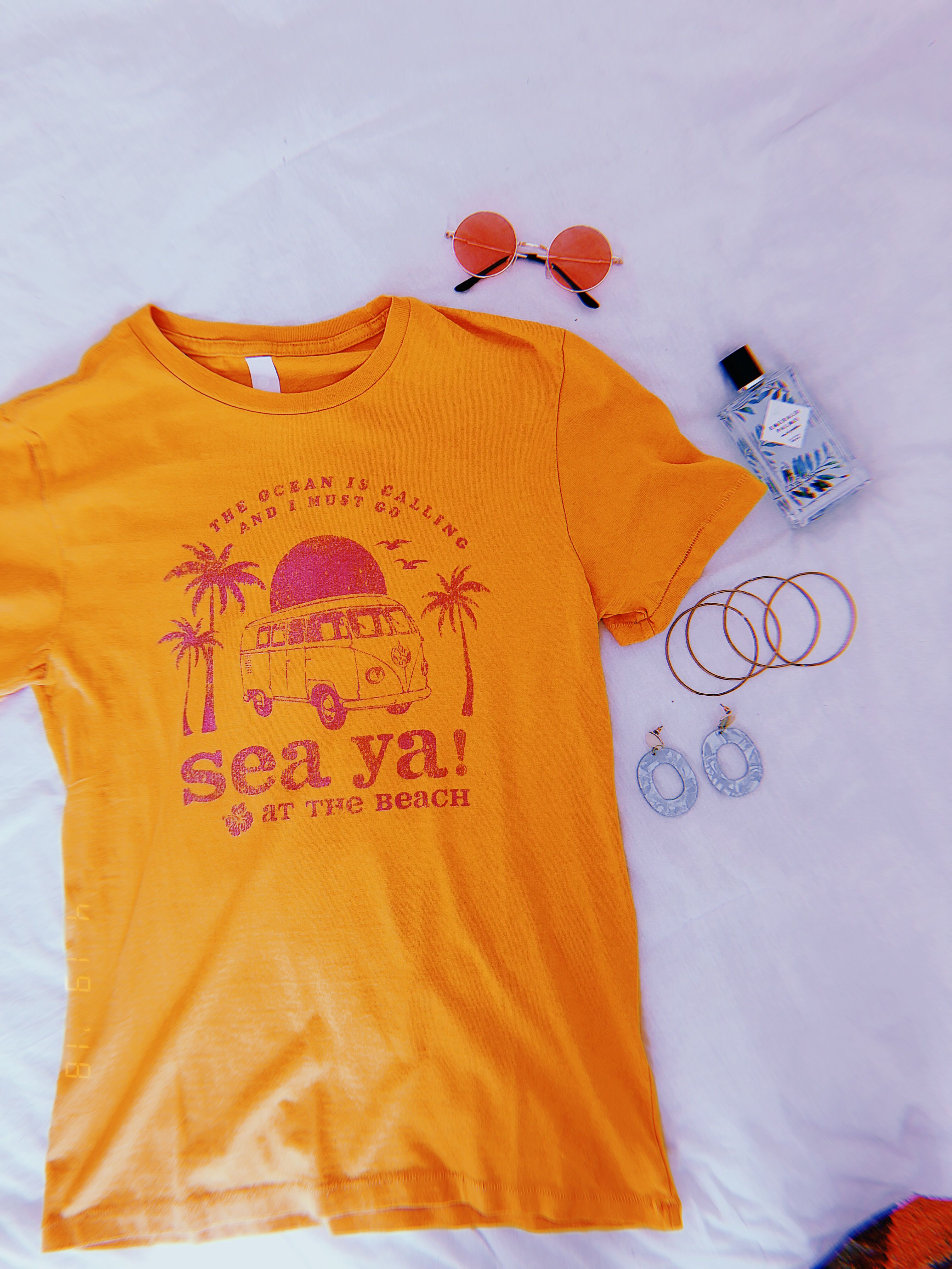 22a9243ea659 Our newest collection of beach style graphic tees! With distressed, vintage  style prints, these are your new go-to beach day essentials.