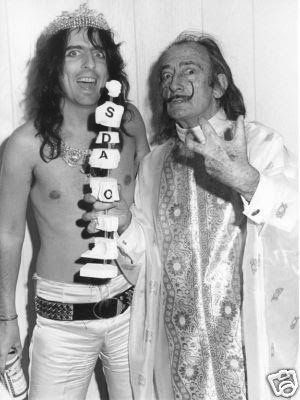 When Alice Cooper Met Salvador Dali In New York City 1973 With