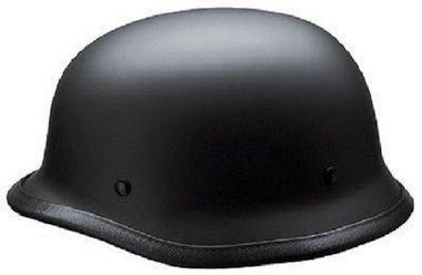 German Style Skull Cap Helmet Motorcycle Open Face Matt Black Approved New Motorcycle Helmets Half Helmet Harley Helmets
