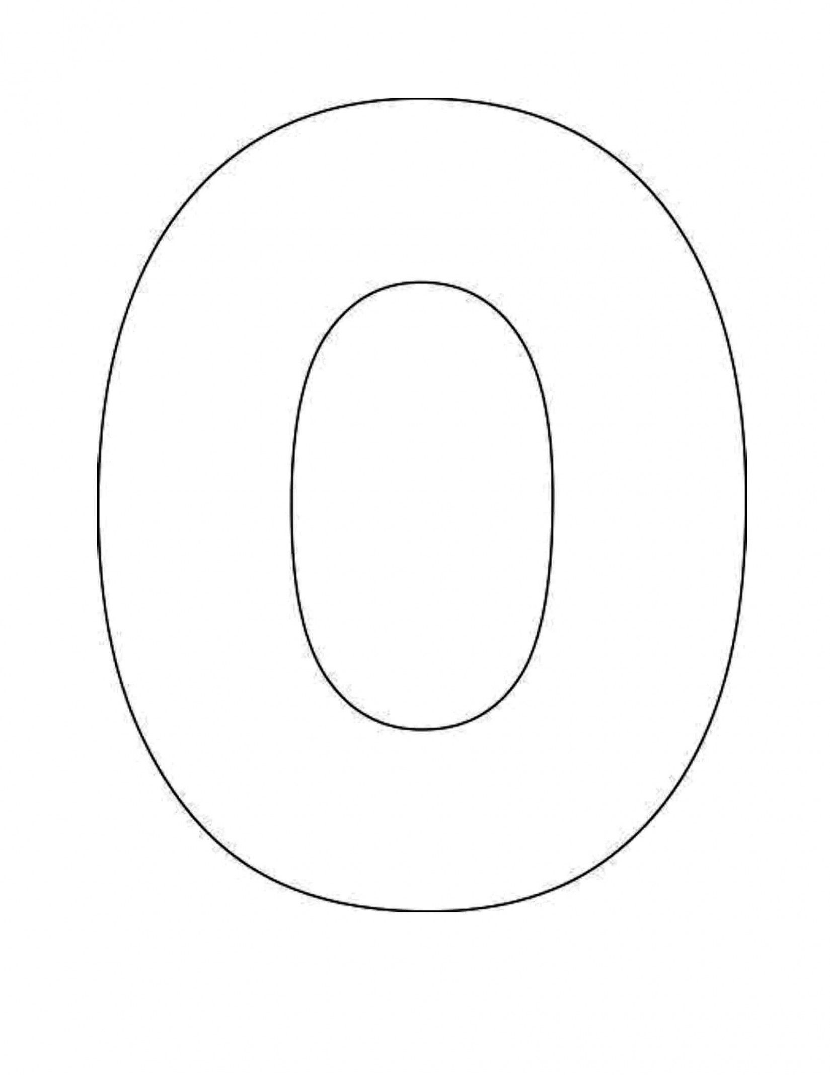 Letter O Template Printable Five Things You Should Do In