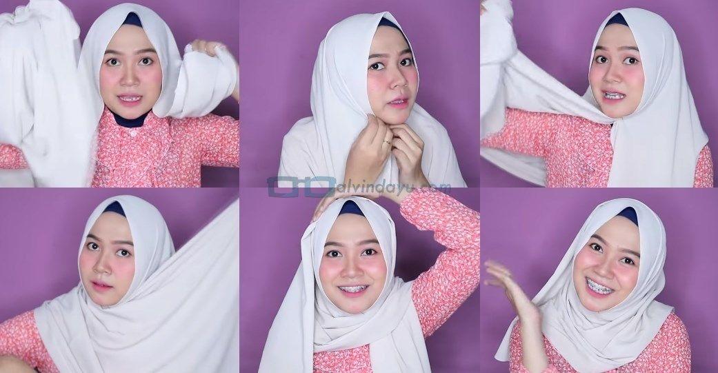 Pin Di 5 Tutorial Hijab Pashmina Wajah Bulat Simple Agar Terlihat Tirus Pas Untuk Remaja Pemilik Pipi Tembem