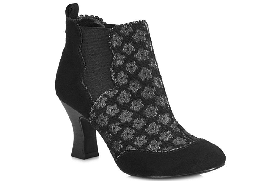 Schuhregal Flach Amazon.com | Ruby Shoo Sammy Black Womens Ankle Boots