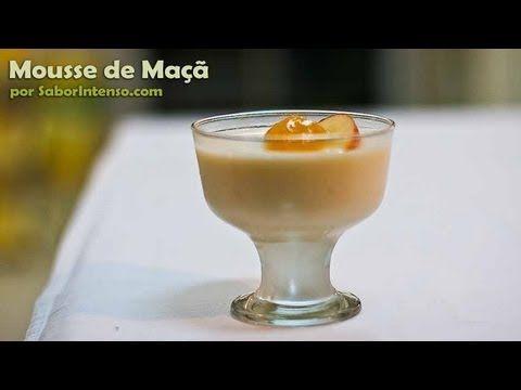 Receita de Mousse de Maçã