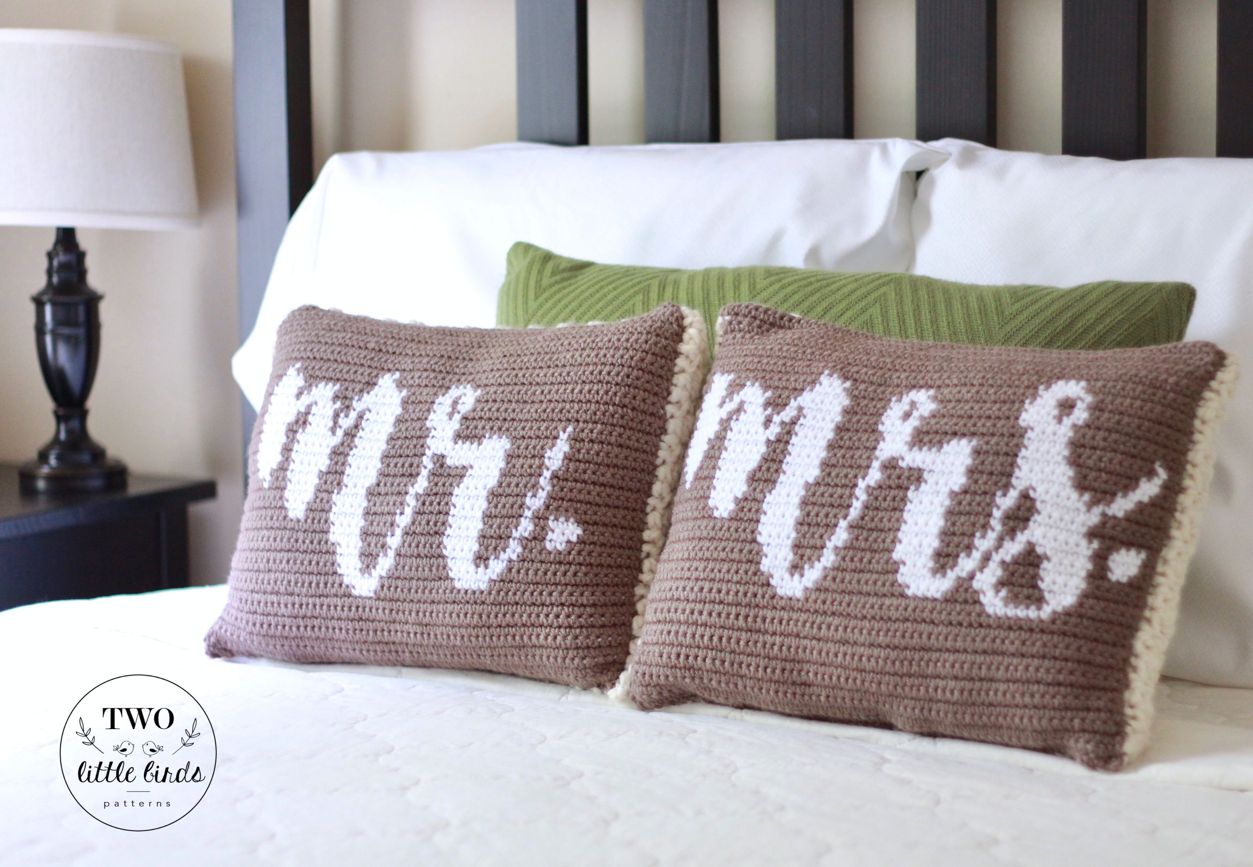 Crochet pattern crochet pillow pattern crochet throw pillow gift crochet pattern crochet pillow pattern crochet throw pillow gift for couple wedding gift his and hers mr mrs pillow set dt1010fo