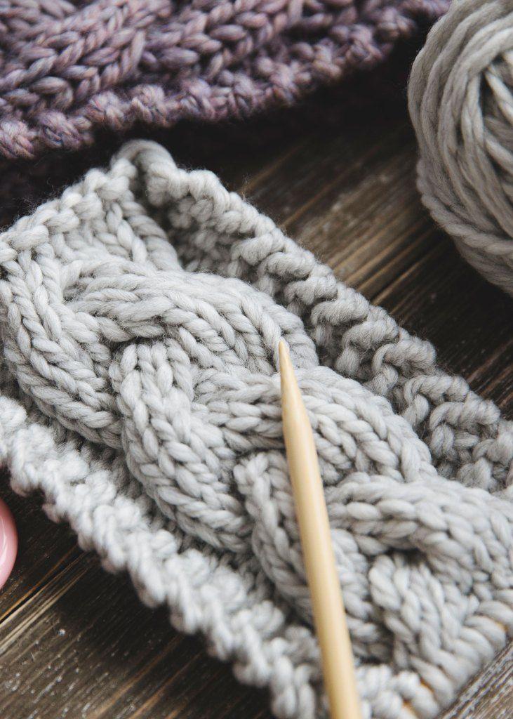 The Softest Knit Winter Headband - Leelee Knits