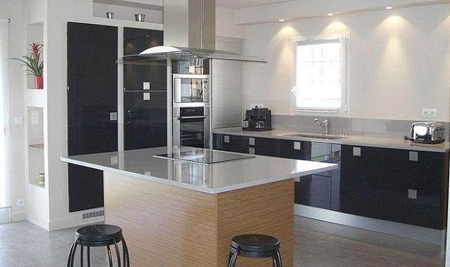 Cocinas con islas modernas cocina con isla2 jpg cocina for Cocinas pequenas con isla