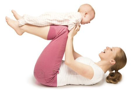 your body after baby  postnatal workout child obesity