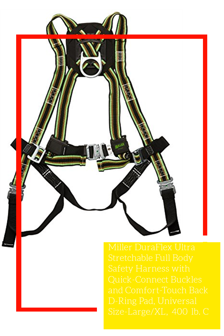 Miller DuraFlex Ultra Stretchable Full Body Safety Harness
