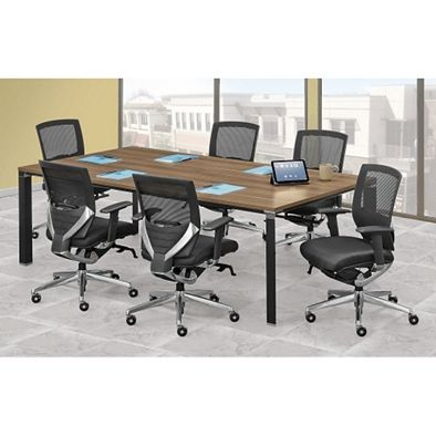 Empire Conference Table With Triangular Legs W Empire Legs - Triangle conference table