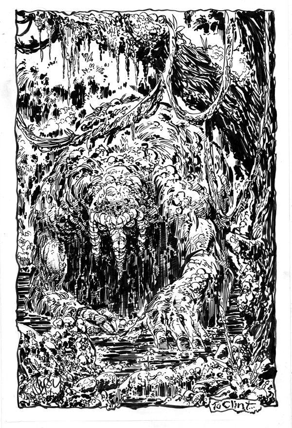 Man-Thing by John Byrne