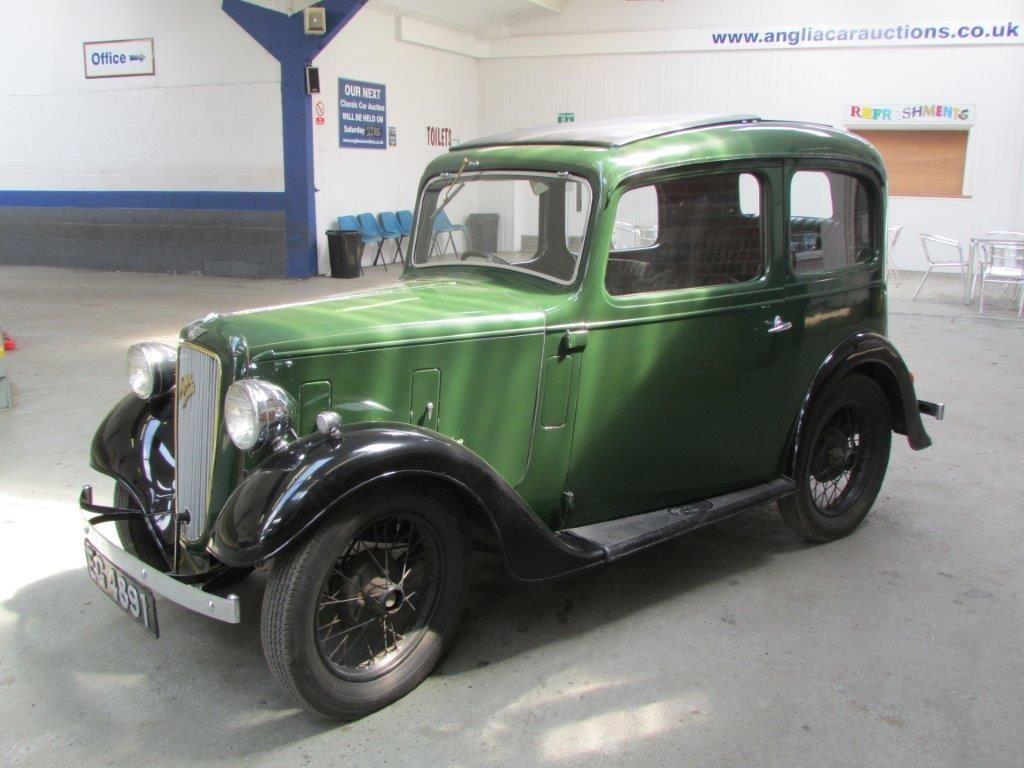 1938 Austin Seven Ruby