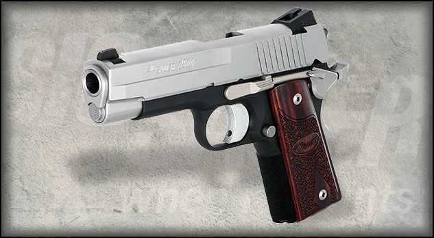 Sig Sauer 1911 C3 Bought This Recently With The Crimson Trace Laser