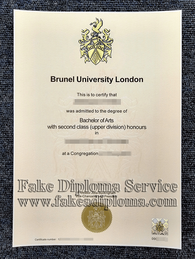 How Can I Get A Degree Copy Of Brunel University With Images