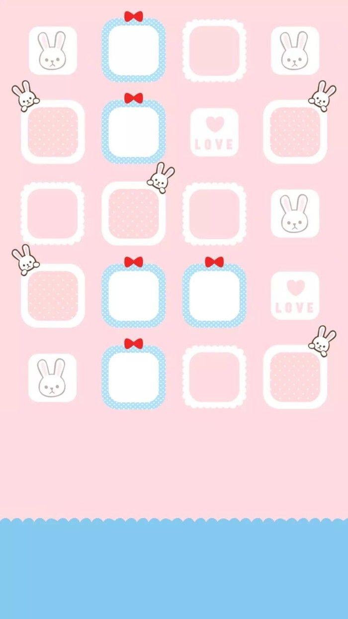 Iphone壁纸 套图 Molang兔 Iphone Homescreen Wallpaper Iphone