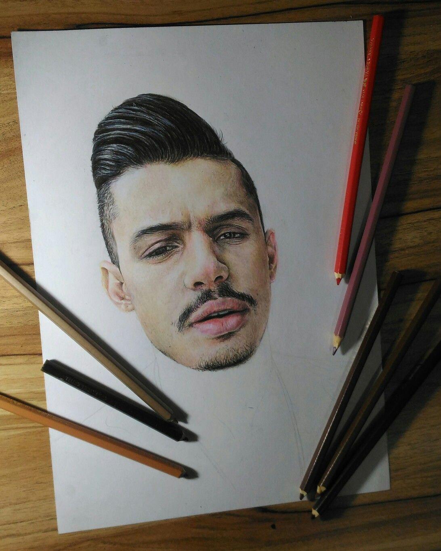Pin De Eu Marii Em Hungria Hip Hop Desenhos Realistas