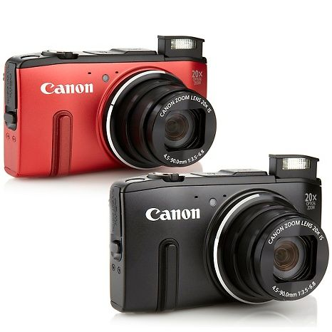 Canon PowerShot SX280 12.1MP 20X Zoom HD Video Wi-Fi Camera Bundle with Softwar at HSN.com