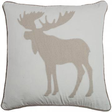 Moose Applique Pillow Toss Pillows Decorative Pillows Impressive Home Decorators Pillows