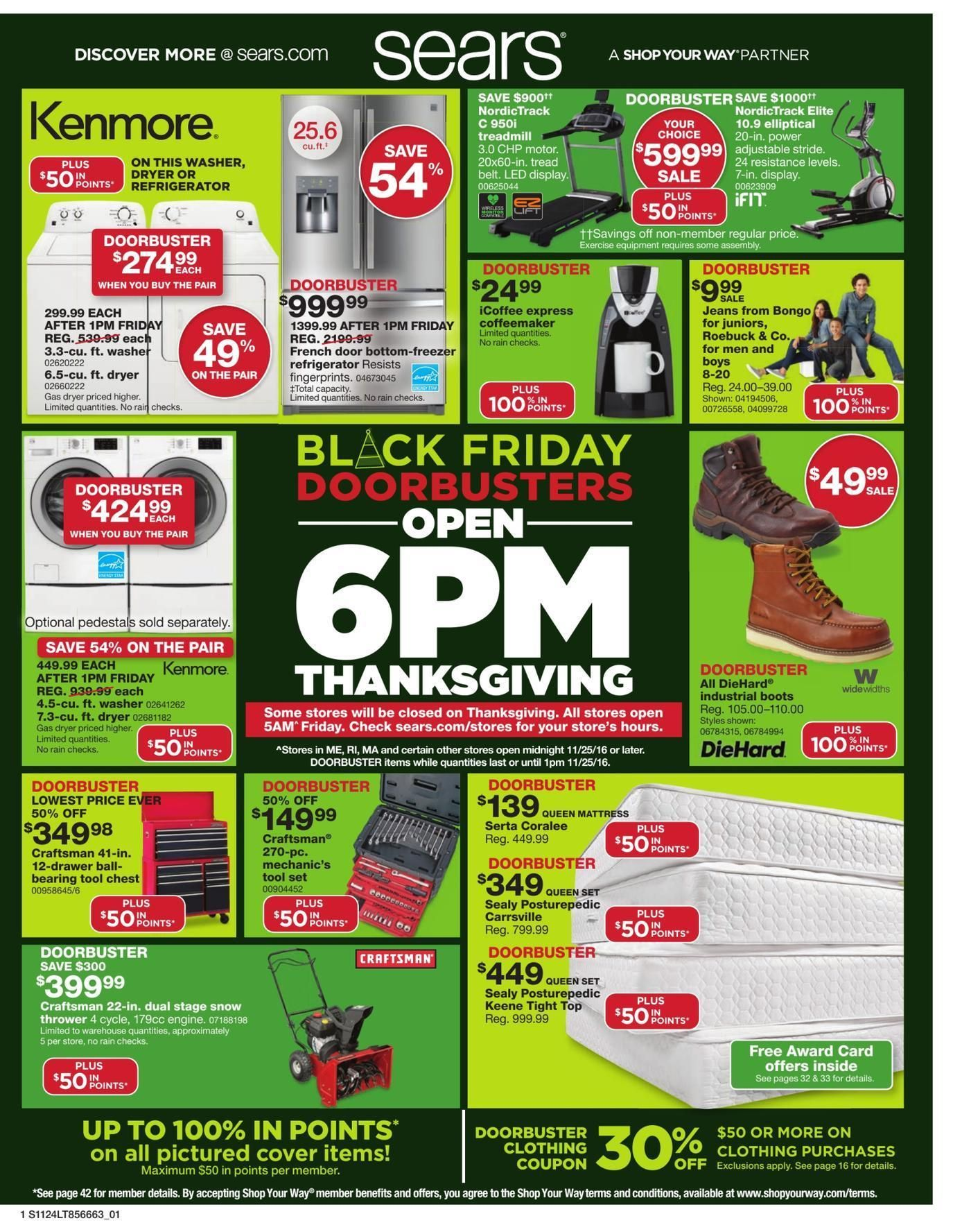 Sears 2019 Black Friday Ad In 2020 Black Friday Ads Black Friday Black Friday Sale