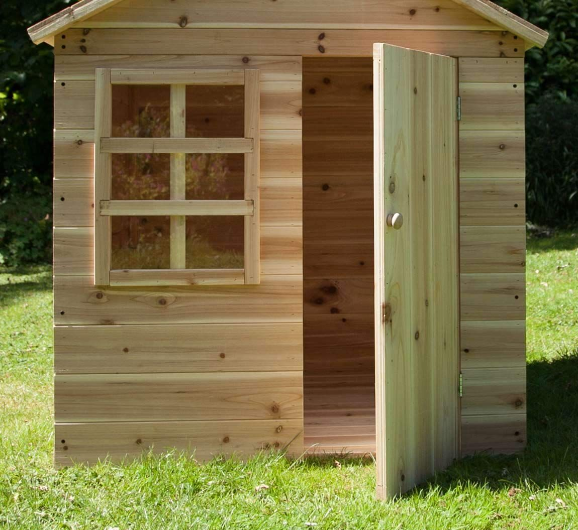 Evermeadow Playhouse with Floor Playhouse for Toddlers