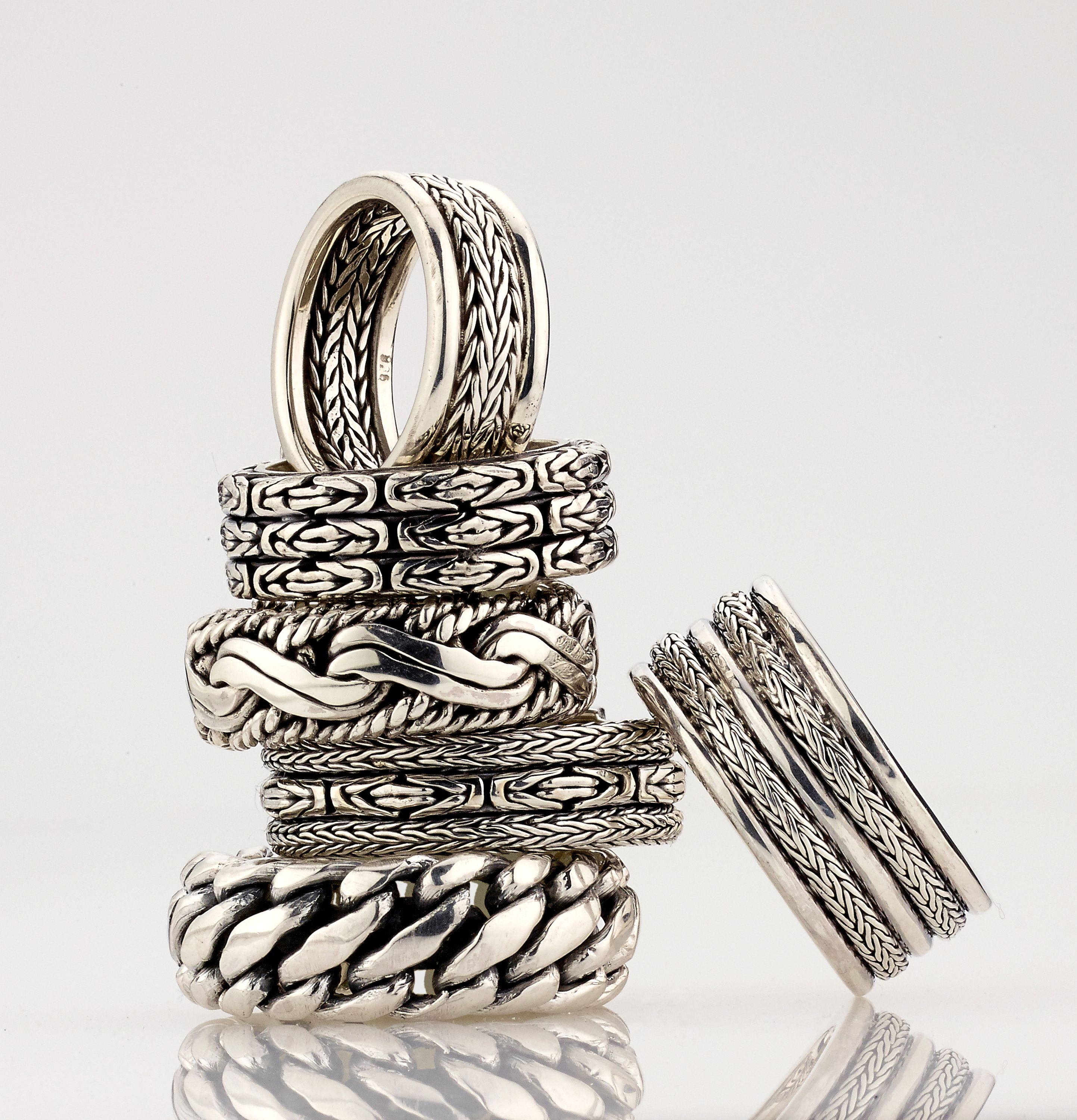 All hand made 925 Sterling silver by Samuel B JCK -booth B-5166
