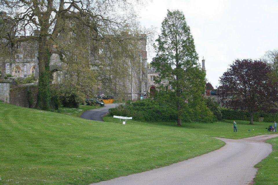 Powderham Castle May 2014 17 Castle, Golf courses, Field