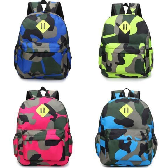 Baby Kid Toddler Nursery Camouflage Travel Backpack Shoulder ...