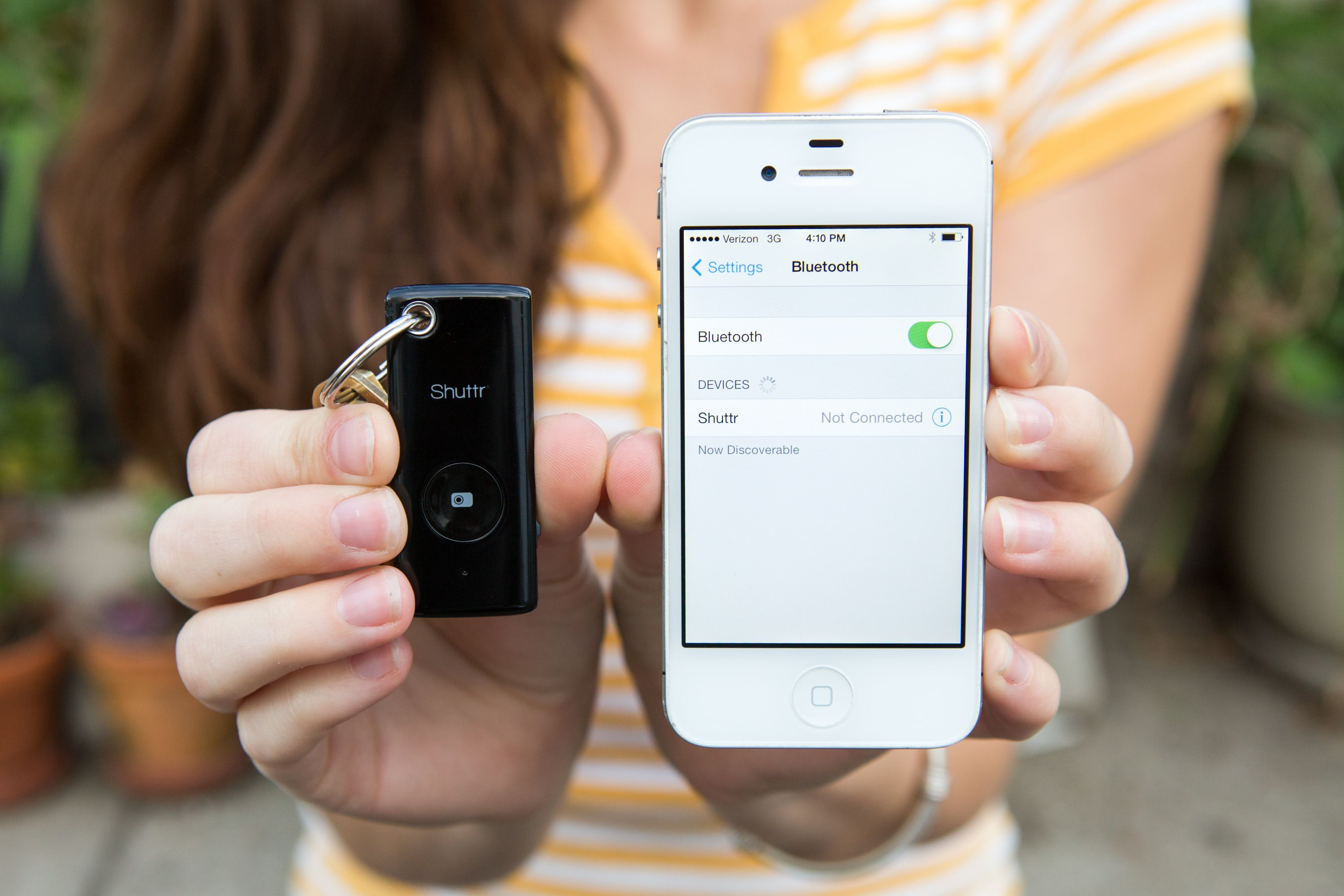 Muku shuttr remote for iphone