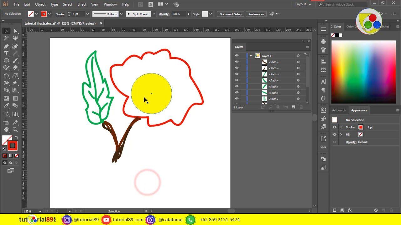 Cara Menggabungkan Layer Objek Di Adobe Illustrator Tutorial89 Di Video Ini Kita Akan Belajar Menggabungkan Layer Objek Di Il Adobe Illustrator Objek Belajar