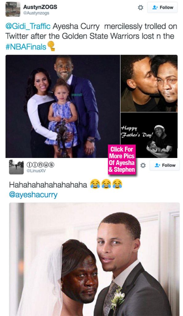 Ayesha Curry Slammed On Twitter With Hilarious Memes After Warriors Loss — See Pics