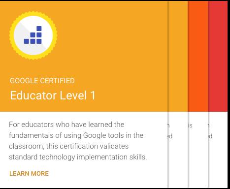 Google for Education Training Center! A professional development ...