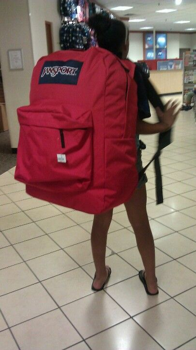 World S Largest Backpack Coooool Jansport