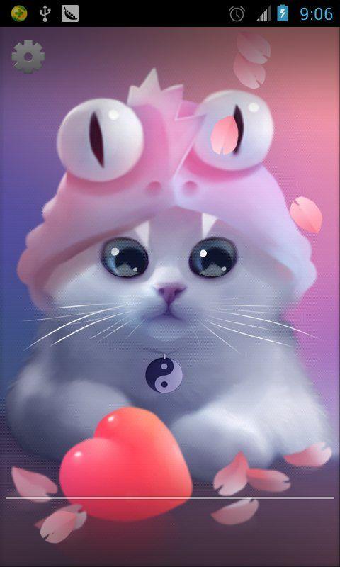 Cute Cat Live Wallpaper Android Apps On Google Play Cute Pokemon Wallpaper Cute Drawings Cute Art