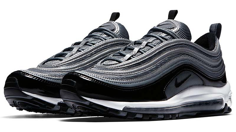 the latest 20051 c1522 NIKE AIR MAX 97  COOL GREY BLACK-WHITE  921826-010