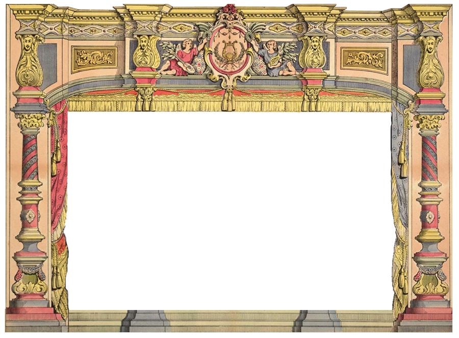 EKDuncan - My Fanciful Muse: French Paper Theater - d'Epinal No.1579 Part 1