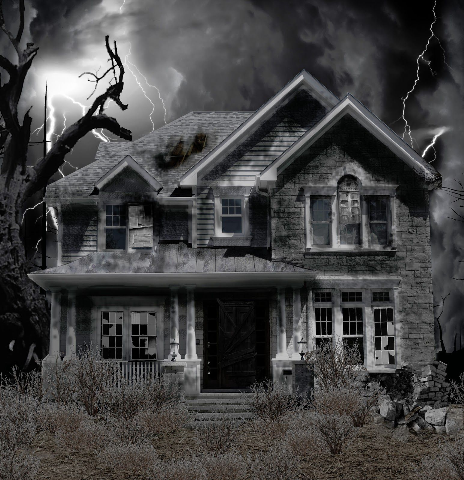 Project 1: Haunted House (photo