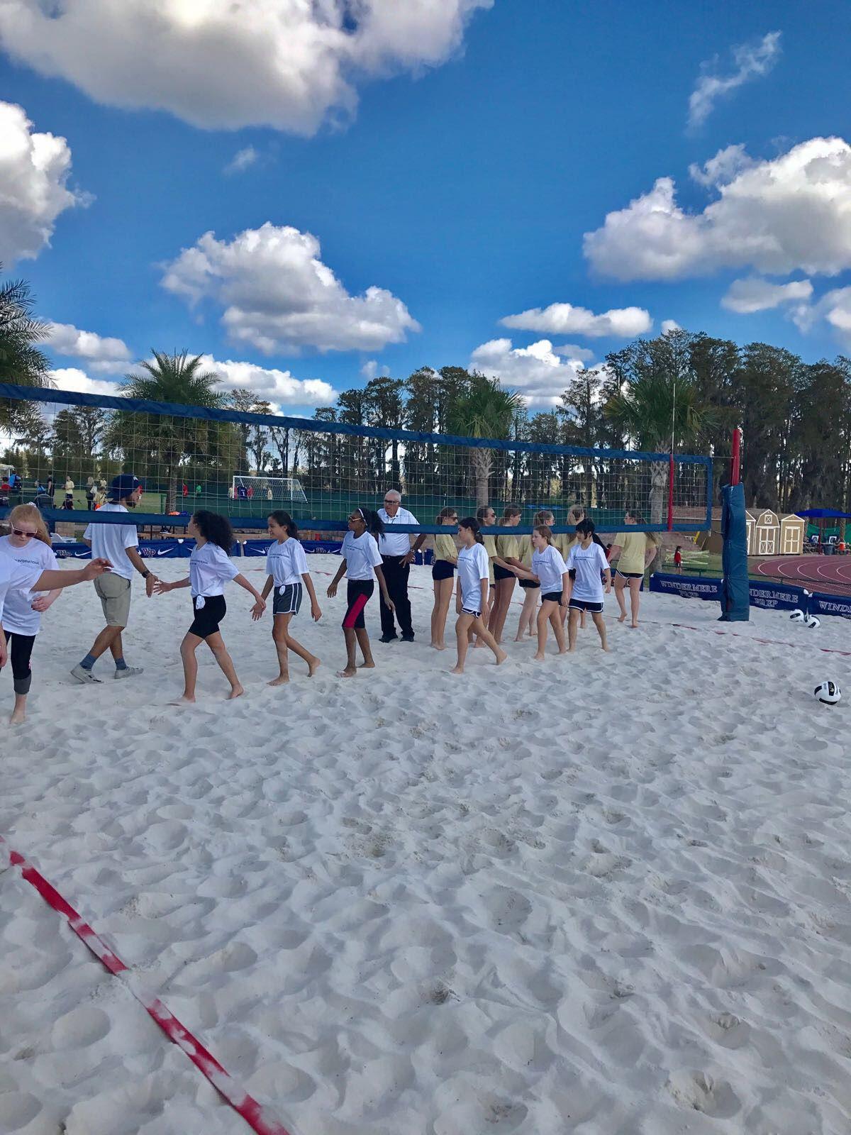 Naeglobalgames Globalgamesna Girls Sand Volleyball Underway Global Dolores Park Sportsmanship