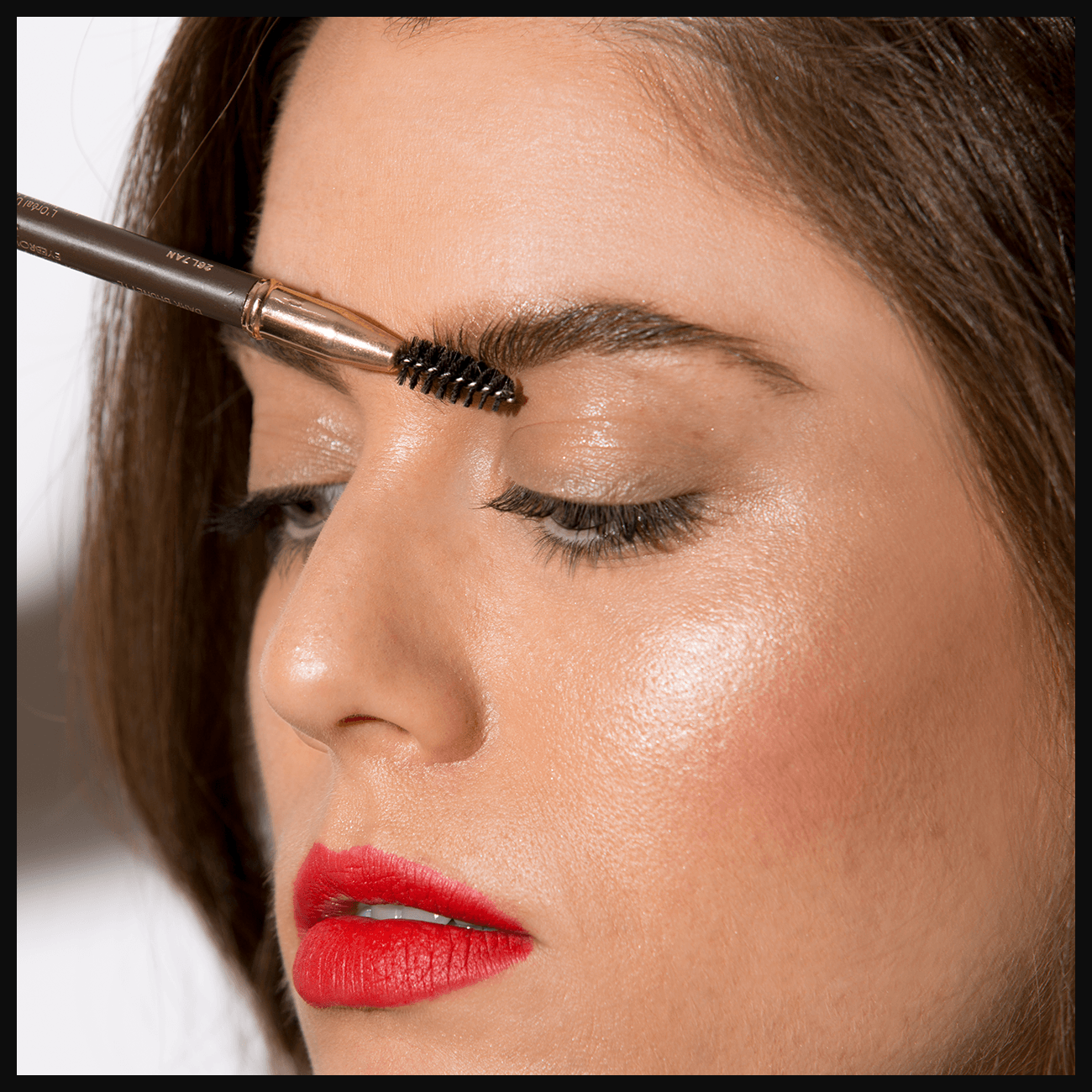 How to Fake Bushy Brows Eyebrow help, How to apply