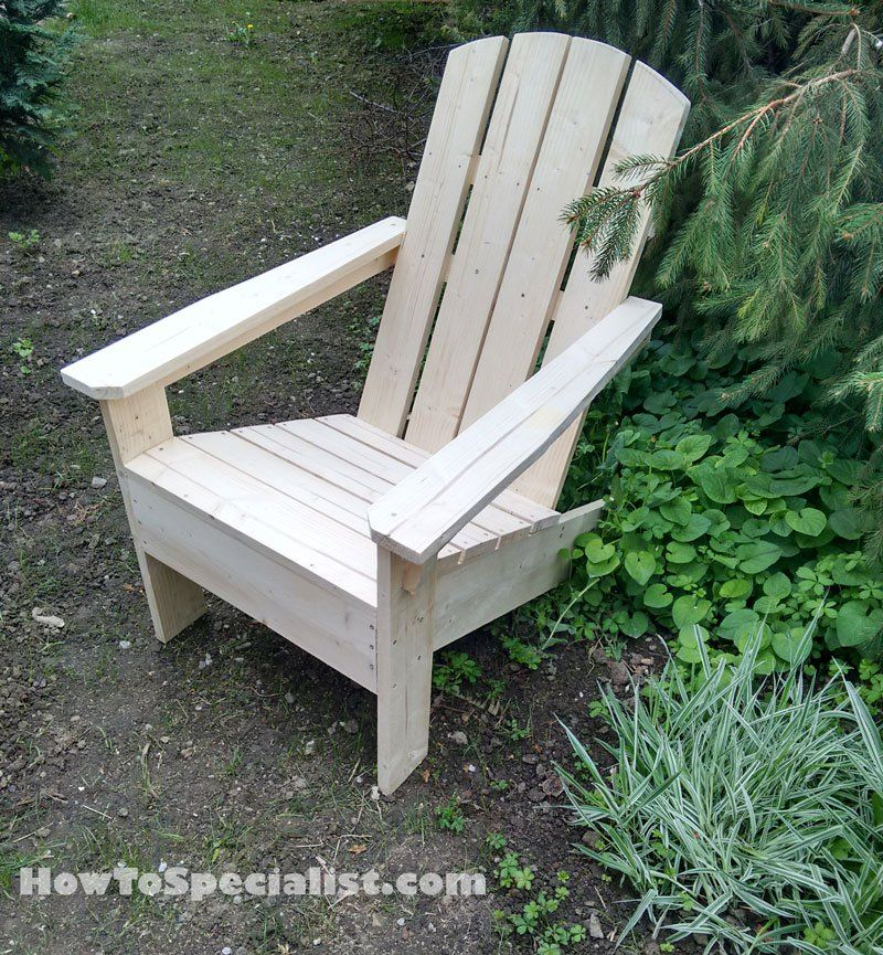 adirondack chair plans free outdoor pinterest head. Black Bedroom Furniture Sets. Home Design Ideas