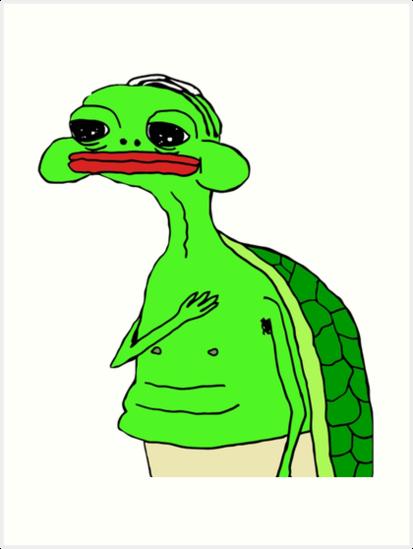 Turtle Seppuku Sticker