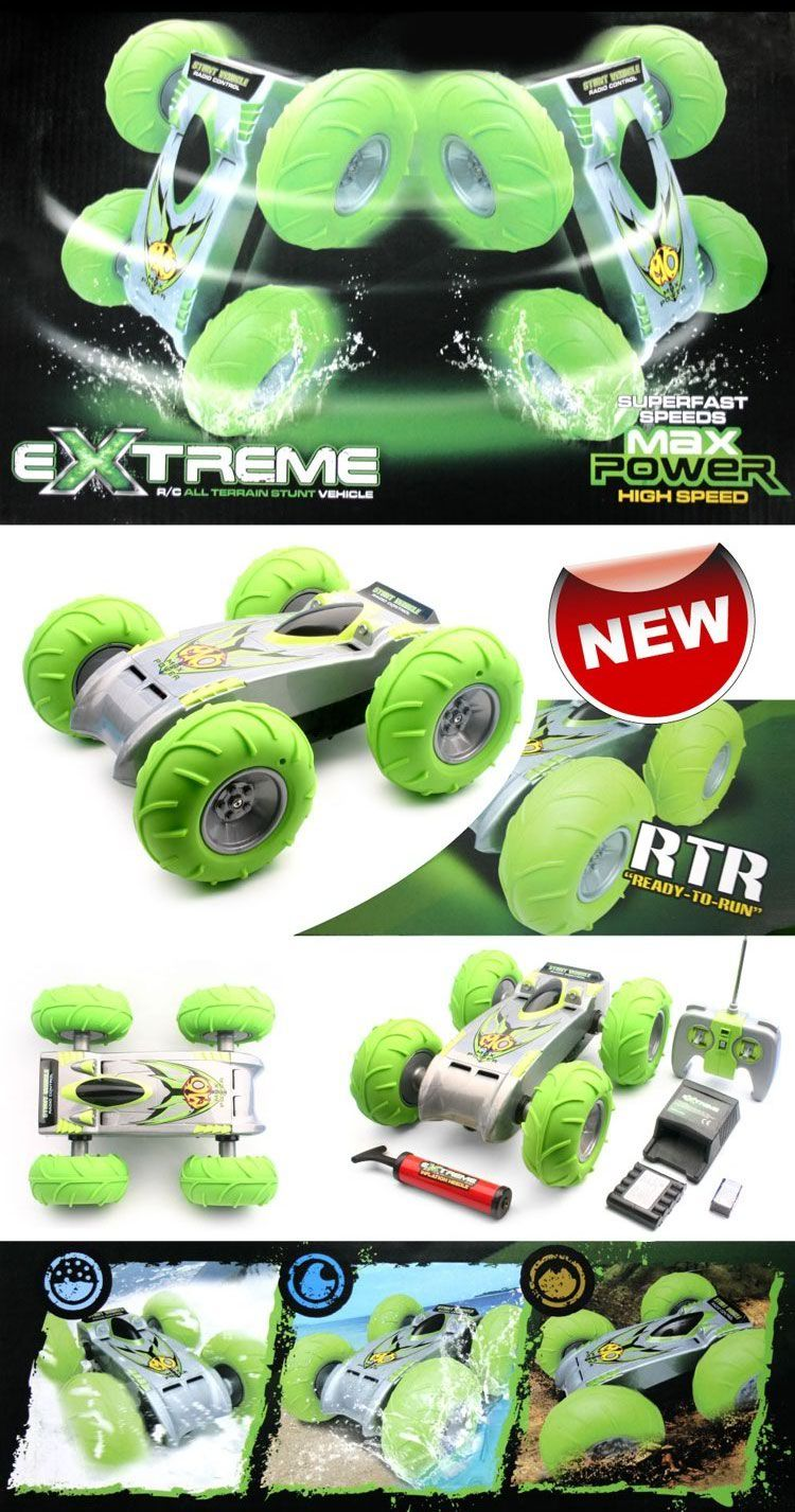 Rc Extreme Stunt Car Use The Pump To Keep Air In Inflatable
