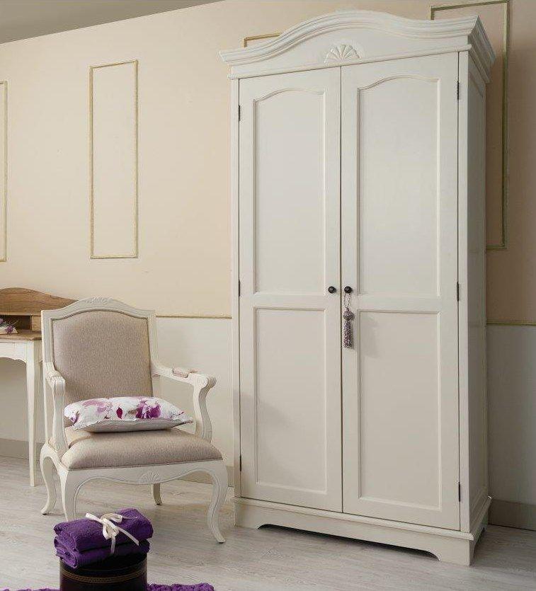 Armario París 2 Puertas Blanco Roto Lacado. | Ideas armario ...
