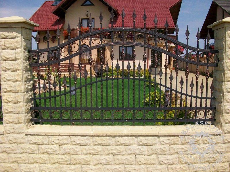 garduri fier forjat modele gard abalasei fier fences