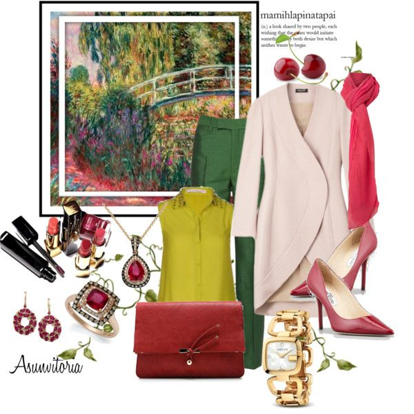 Monet by asunvitoria on Polyvore