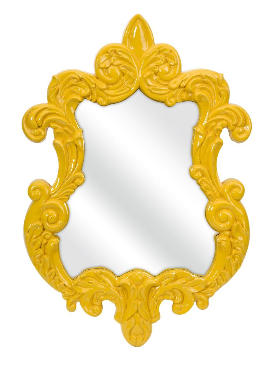 yellow baroque mirror | Doggie Day Care | Pinterest | Baroque mirror ...